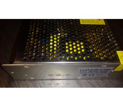 Блок питания для светодиодной ленты LED strip Power Supply 250W 220V-12V IP20