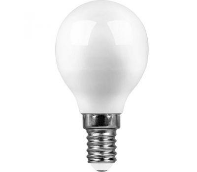 Лампа светодиодная E14 – 7w 4000К мат (естественный белый свет)
