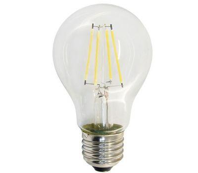 Лампа светодиодная E27 G45 4000K 7W, филамент