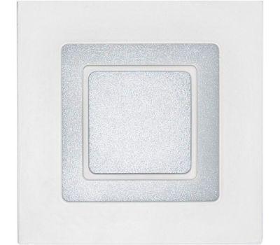 LED Panel квадрат (16w , 4000К) + подсветка (красный)