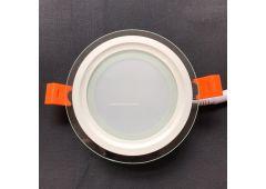 LED панель 6w стекло круг