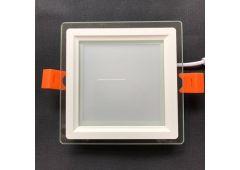 LED панель 6w стекло квадрат