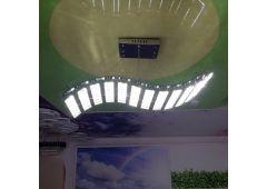 Светильник подвес хрустальный (кривая)