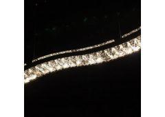 Люстра-подвес хрустальный (лестница)