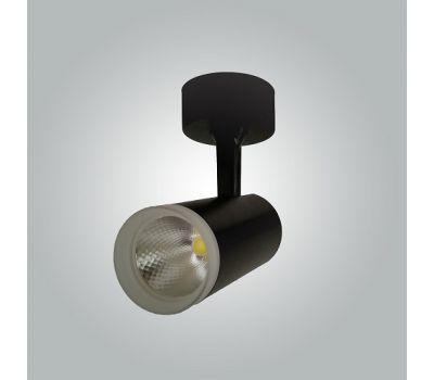 Спот светильник микрофон 9w труба черный
