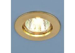 Светильник G5,3 MR16 (золото)