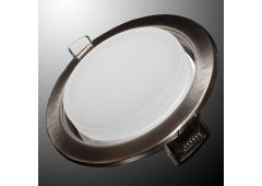 Светильник GX53H (никель) + термокольцо