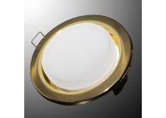 Светильник GX53H (мат. золото) + термокольцо