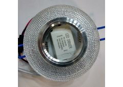 MR16 Кристалл прозрачный с LED-подсветкой L160